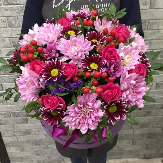 Цветы в коробке 3151