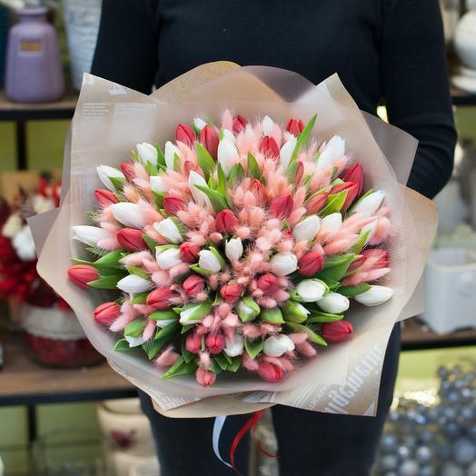 Букет тюльпанов Антарес
