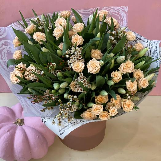 Любимые тюльпаны 🌿