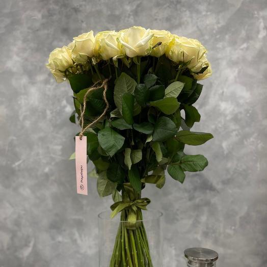 Букет «Snow Queen»  из 51 белой Розы