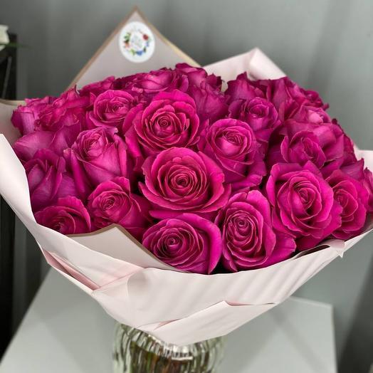 Букет 29 роз Пинк Флойд