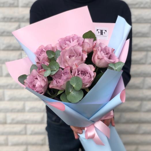 Букет из винтажных роз