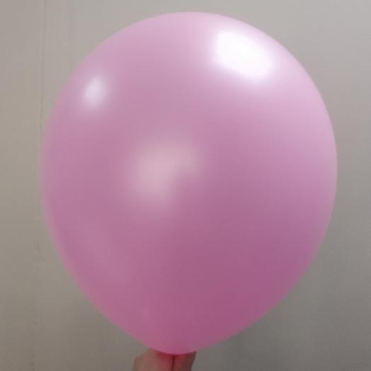 Шар воздушный розовый