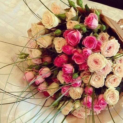 Цветы любимой жене девушке