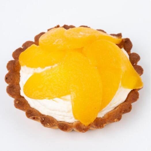Тарталетка с персиком