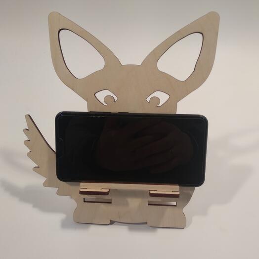 "Подставка под телефон  ""Такса "" 199x221мм подставка под планшет, подставка под книгу"