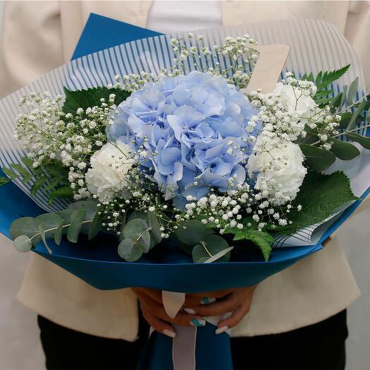 Букет цветов Туманный блеск