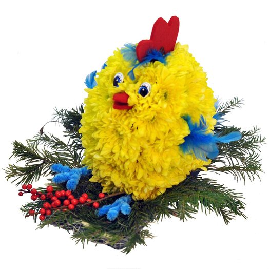 Chicken: flowers to order Flowwow
