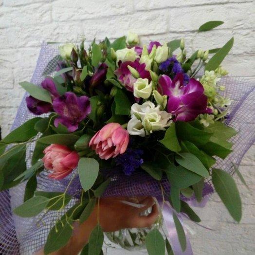 Комплиментик: букеты цветов на заказ Flowwow