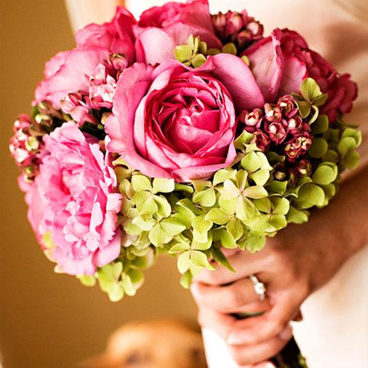 Букет невесты «Гортензия»: букеты цветов на заказ Flowwow
