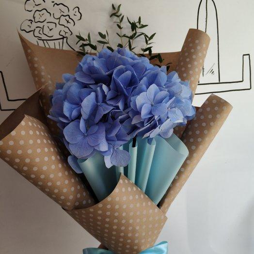 Королева Гортензия: букеты цветов на заказ Flowwow