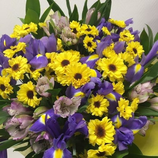 Синичка: букеты цветов на заказ Flowwow