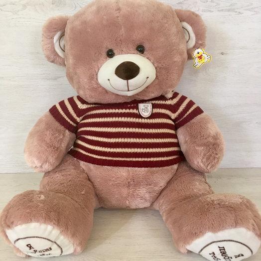 Плюшевый медведь : букеты цветов на заказ Flowwow