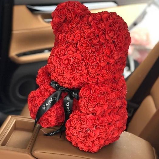 """Медвежонок Теди"": букеты цветов на заказ Flowwow"