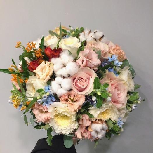 Хлопок: букеты цветов на заказ Flowwow