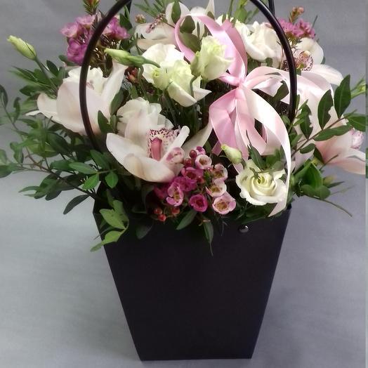 Мисс Элегантность: букеты цветов на заказ Flowwow