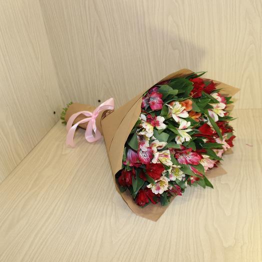 29 Альстромерия микс: букеты цветов на заказ Flowwow