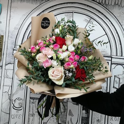 "Букет ""Мистик"": букеты цветов на заказ Flowwow"