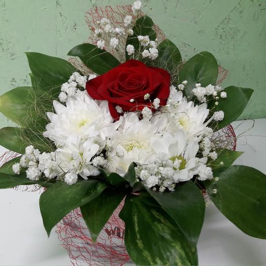 Роза в коробке: букеты цветов на заказ Flowwow