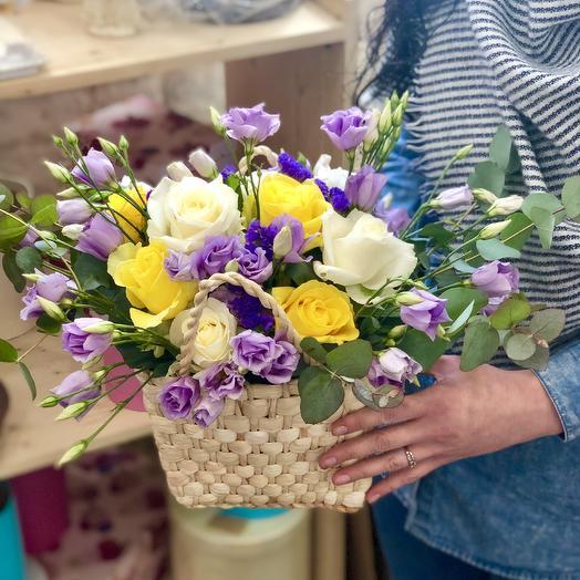 """Композиция """"Павлинье перо"""": букеты цветов на заказ Flowwow"""