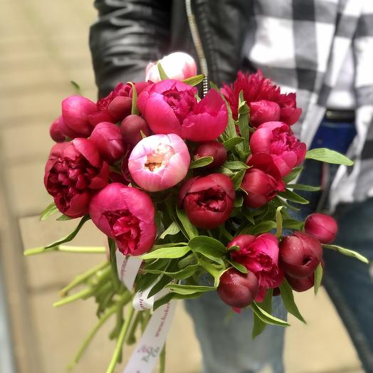 Настроение Пионы: букеты цветов на заказ Flowwow
