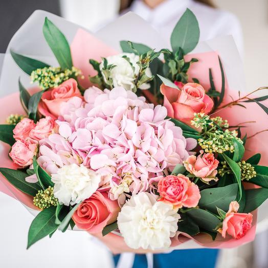Букет Комплимент 11: букеты цветов на заказ Flowwow