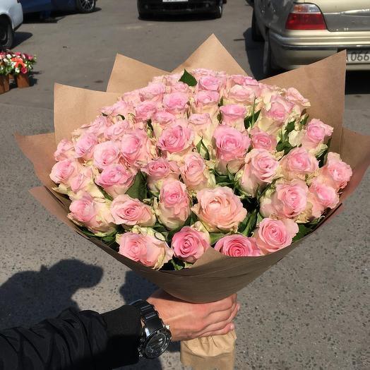 Шикарные розовые розы