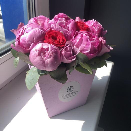 Поляна пионов: букеты цветов на заказ Flowwow