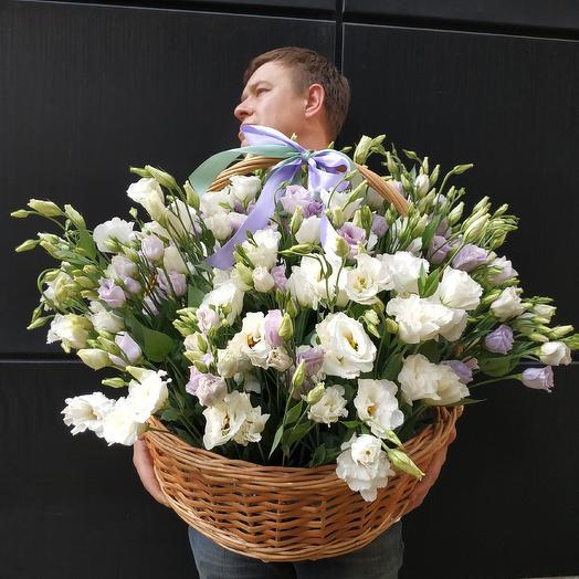 VIP лизиантус: букеты цветов на заказ Flowwow