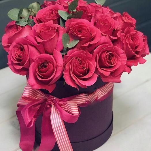 «Малиновое суфле»: букеты цветов на заказ Flowwow