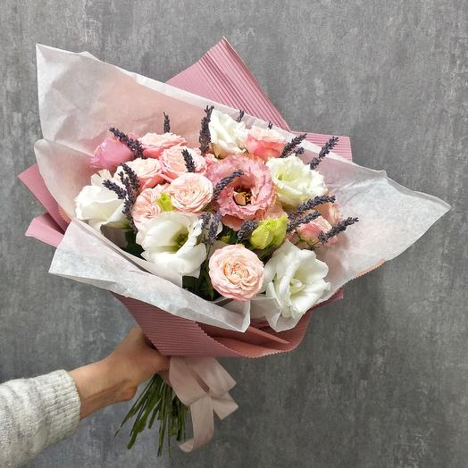 """Букет """"Лавандовый зефир"""": букеты цветов на заказ Flowwow"""