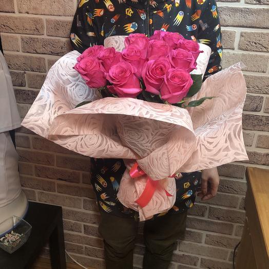 Букет Малиновый Эквадор: букеты цветов на заказ Flowwow
