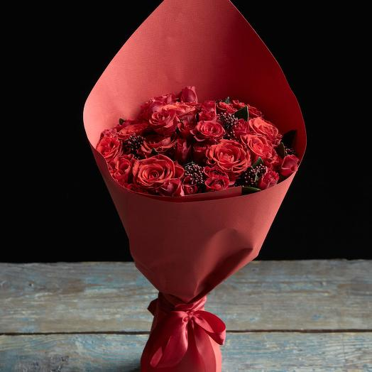 Букет 17: букеты цветов на заказ Flowwow