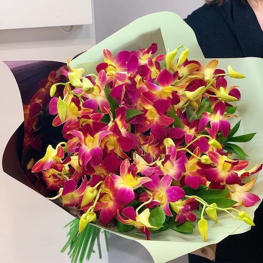 Тропическое настроение: букеты цветов на заказ Flowwow