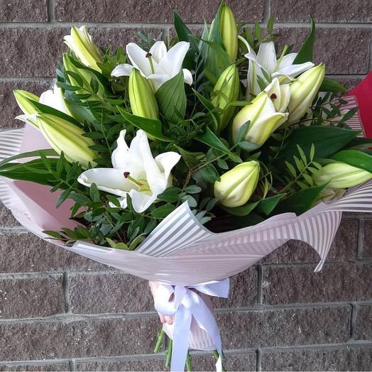 «Букет Лилий»: букеты цветов на заказ Flowwow