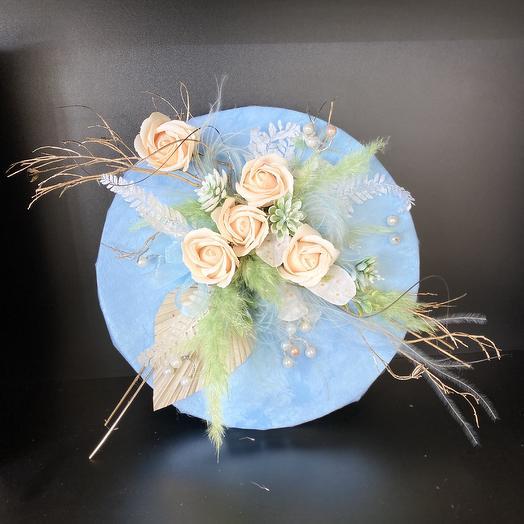 Декоративное пано: букеты цветов на заказ Flowwow