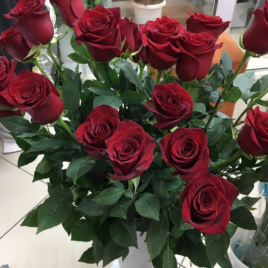 Розы 90 см: букеты цветов на заказ Flowwow