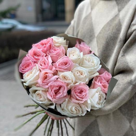 Незабываемая роза: букеты цветов на заказ Flowwow