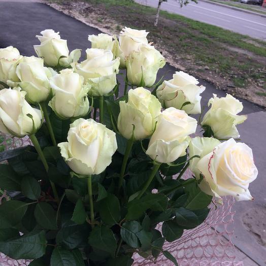 Букет белых роз Элегия