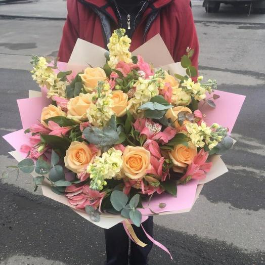 Тёплый день: букеты цветов на заказ Flowwow