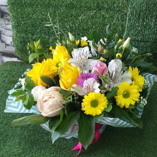 Солнечная поляна: букеты цветов на заказ Flowwow