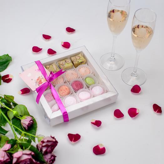 Набор французский поцелуй: букеты цветов на заказ Flowwow
