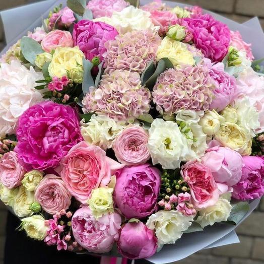 Букет цветов сестре