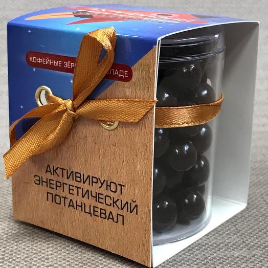 Кофейные зерна в шоколаде «Активизин»