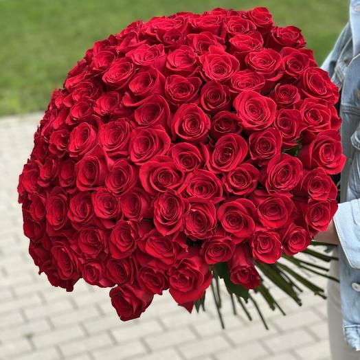 Bouquet of 151 red roses