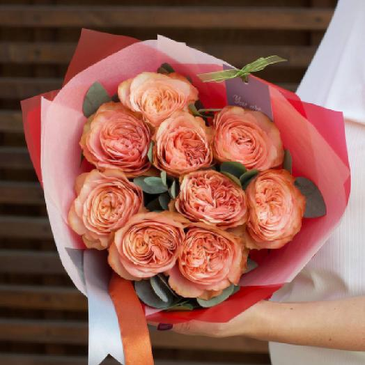 9 пиановидных роз