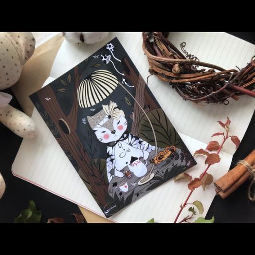 Lady Flowers - авторская дизайнерская карточка