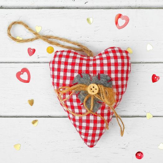 Сердце Валентинка  ручная работа