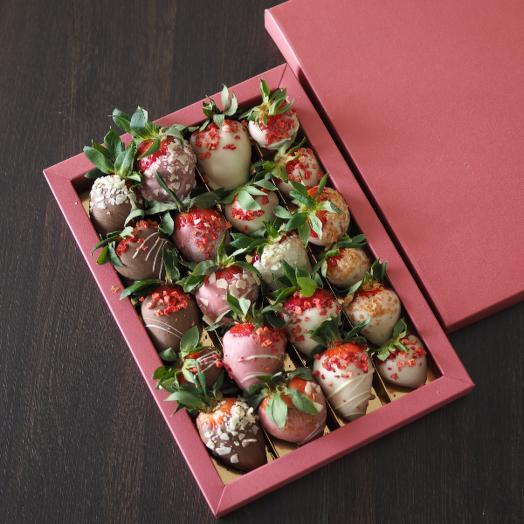 Набор клубника в Шоколаде Романтик