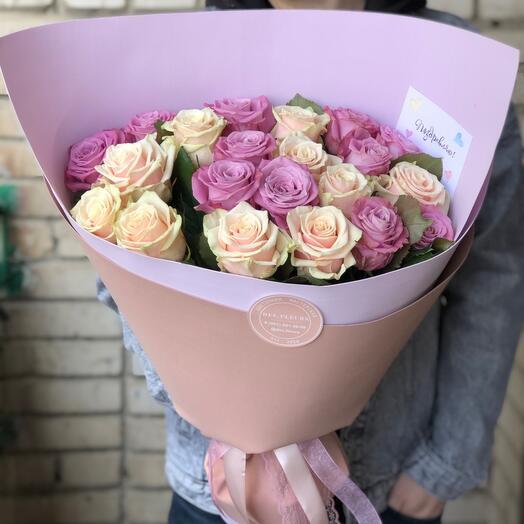 Букет роз « Необыкновенной «